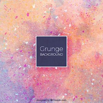Grunge background avec des taches pourpres