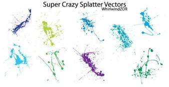 Grunge Splatter Vecteur libre