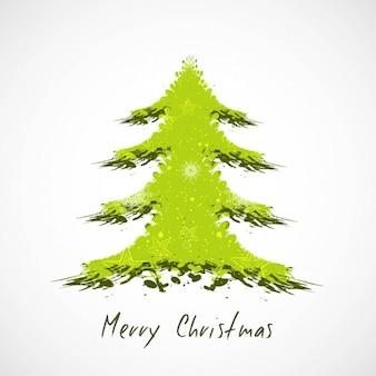 Grungy arbre de Noël