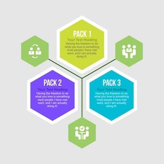 Hexagon Infographies