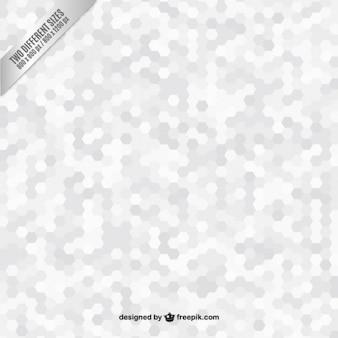 Hexagones gris fond