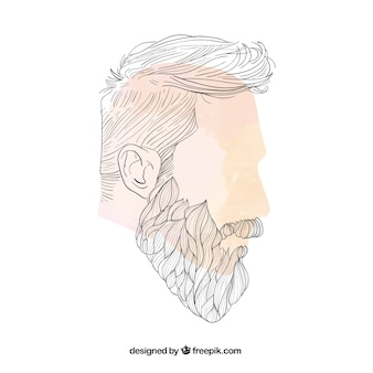 Homme de la coiffure