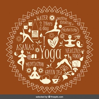 I love yoga illustration