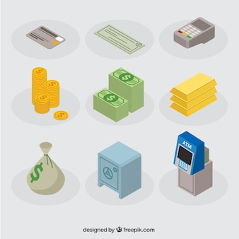 Icônes bancaires