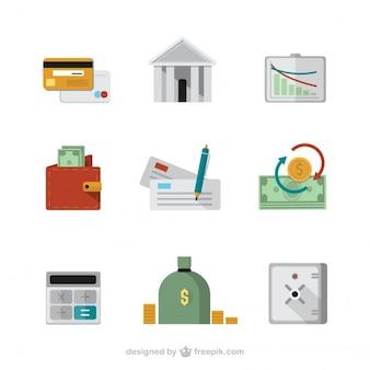 Icônes Finance
