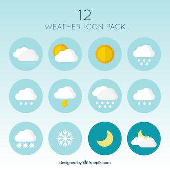 Icônes Weather Pack