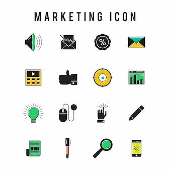 Icône marketing