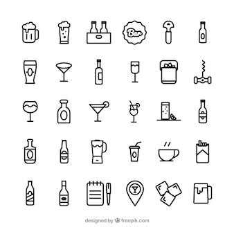 Icônes de la barre