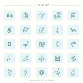 icônes Eco