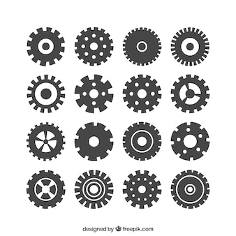 Icônes Engrenages
