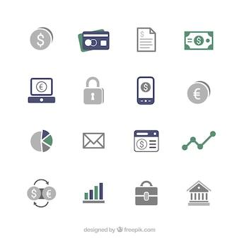 Icônes financiers