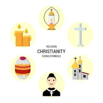 Icônes religieuses Christianisme