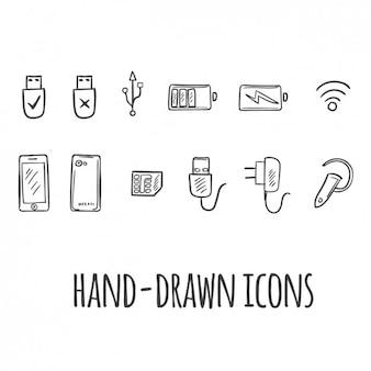 Icônes technologiques