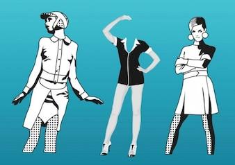 illustration vectorielle de la mode