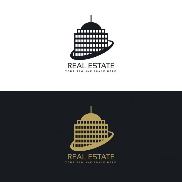 Immobilier logo business concept