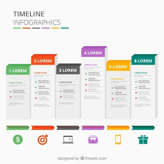 Infographies Chronologie