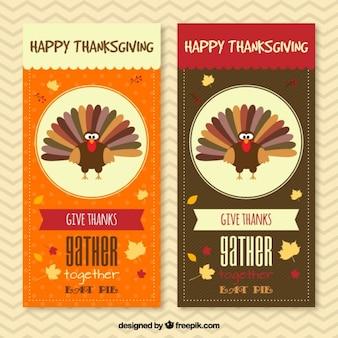 Invitation Thanksgiving Paquet