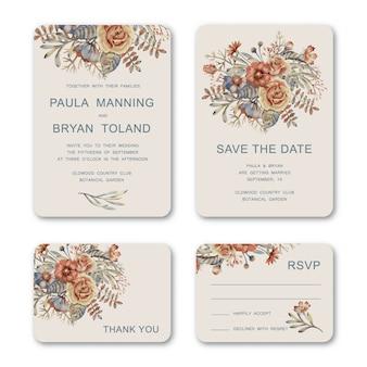 Invitations de mariage