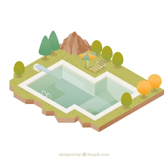 Natation vecteurs et photos gratuites for Portable dans piscine