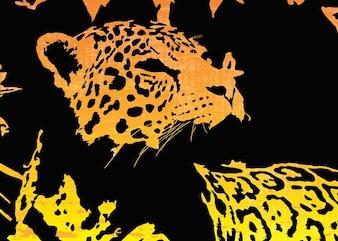 Jaguar vectoriel