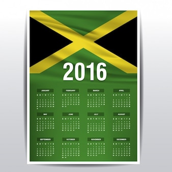 Jamaïque calendrier 2016