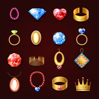 Jeu de bijoux