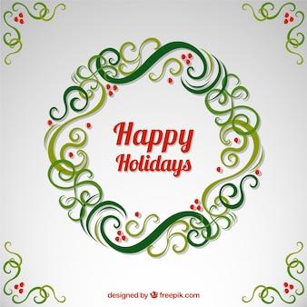 Joyeuses fêtes guirlande