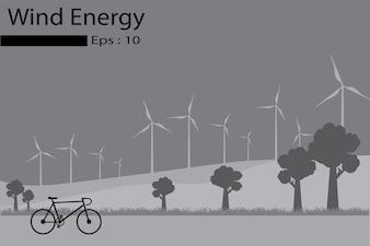 L'énergie éolienne, les générateurs d'énergie éolienne