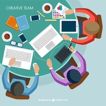 L'équipe créative