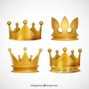 La collecte des couronnes d'or