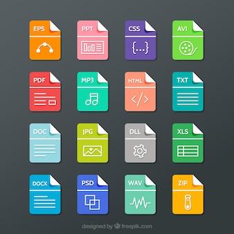 La collecte des formats de fichiers
