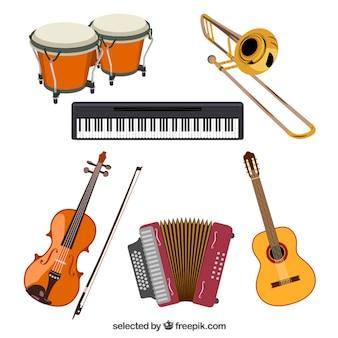 La collecte des instruments de musique