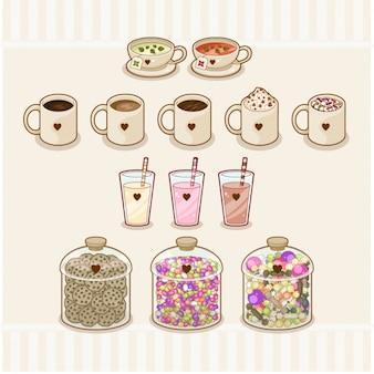 La conception des éléments de dessert