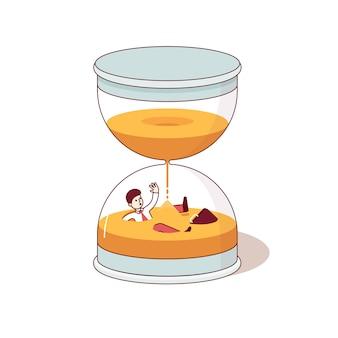 La date limite et le temps sont des concepts d'argent