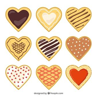 Les cookies de coeur