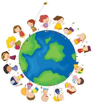 Les enfants à travers le monde