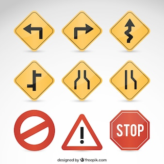 Les panneaux de signalisation