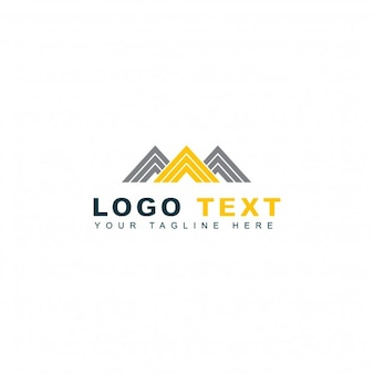 Lettre abstraite d'entreprise m logo
