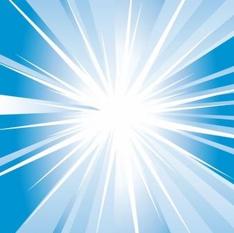Libre abstrait bleu brillant vecteur de fond