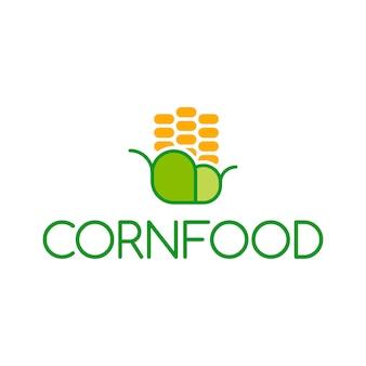 Logo alimentaire pour le maïs