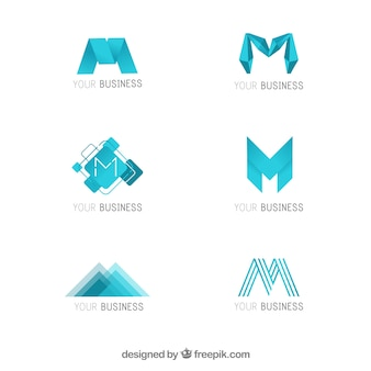 Logo commercial moderne