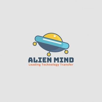 Logo de bateau Alien