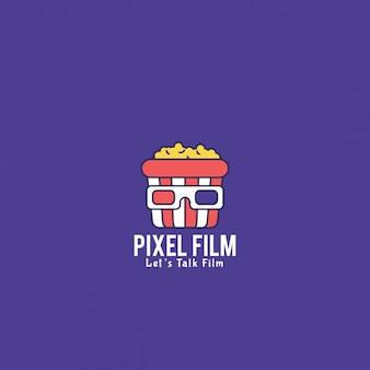 Logo du film avec un fond violet