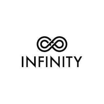 Logo du symbole de l'infini