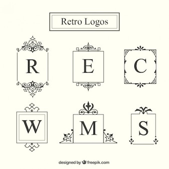 logo Retro collection de châssis