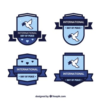 Logos de la journée de la paix