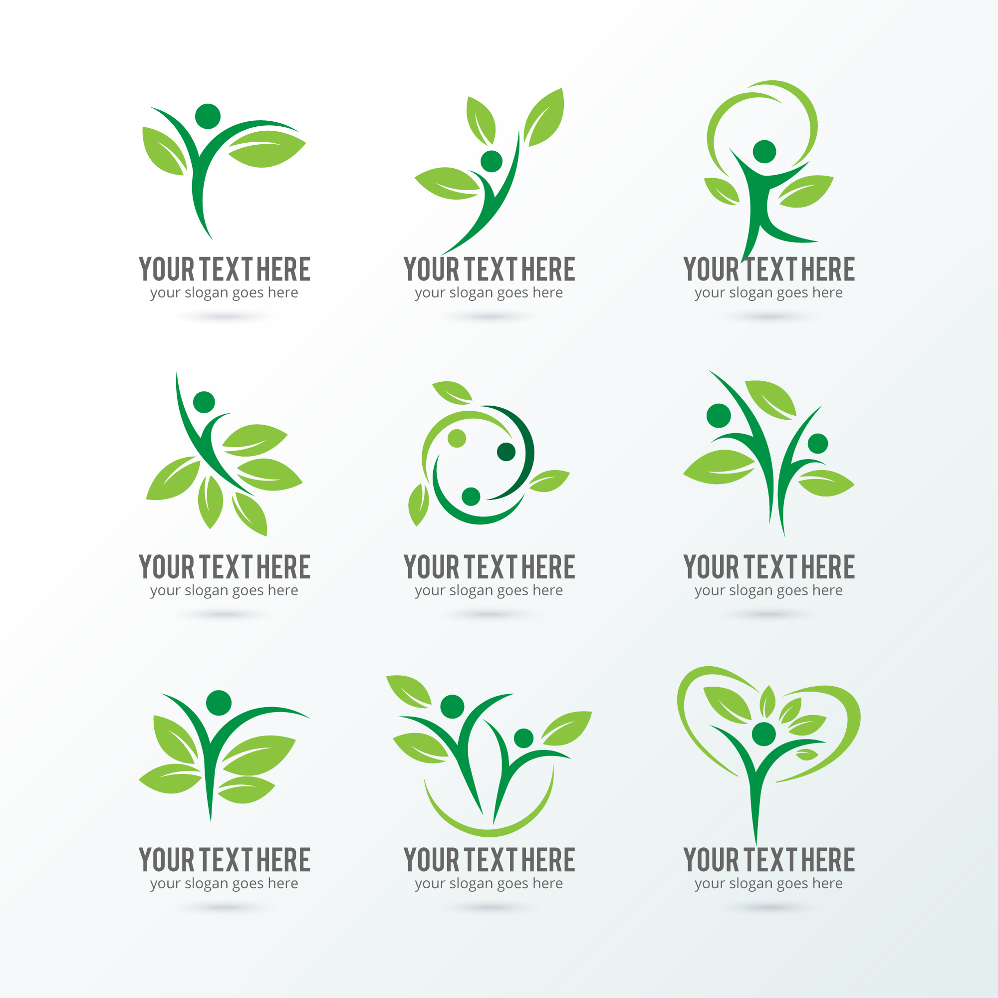 Logos écologie collection