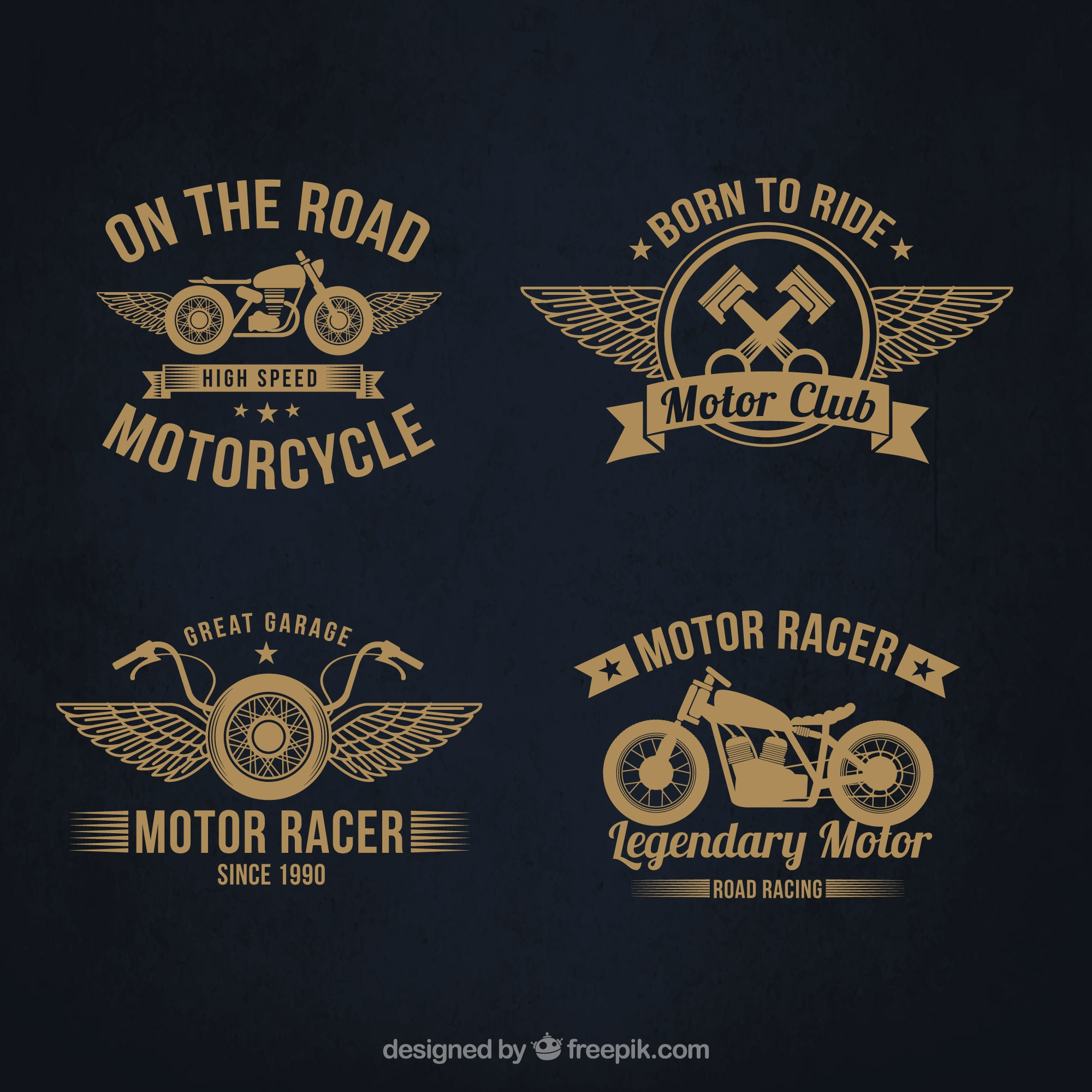 Logos motorcicle