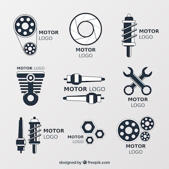 Logos pour les ateliers de réparation automobile