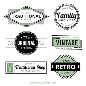 logos verts et noirs
